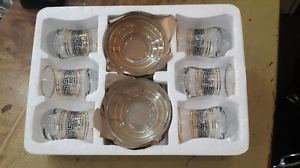 Turkish tea set tea glasses ottoman cups glass mug hot tea glasses tribal set 58