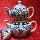 Handmade lead free Ottoman iznik turkish tea pot collectible turkish ceramic 2