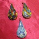 glass necklace pendant jewellery glass pendant handmade art work ko 10