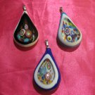 glass necklace pendant jewellery glass pendant handmade evil eye pendant ko 7