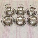 Turkish tea set tea glasses ottoman cups glass mug hot tea glasses tribal set 13