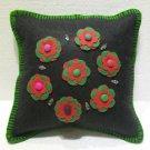 Handmade Turkish pillow nomadic gypsy hippie style cushion cover tribal ys 1