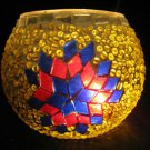 mosaic glass table lamp tischlampe moroccan lantern lampe mosaique candle 26
