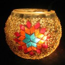 mosaic glass table lamp tischlampe moroccan lantern lampe mosaique candle 21