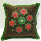 Handmade Turkish pillow nomadic gypsy hippie style cushion cover tribal ys 19