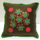 Handmade Turkish pillow nomadic gypsy hippie style cushion cover tribal ys 16