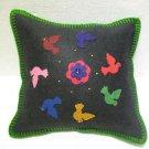 Handmade Turkish pillow nomadic gypsy hippie style cushion cover tribal ys 9