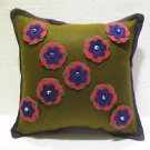 Handmade Turkish pillow nomadic gypsy hippie style cushion cover tribal L 9