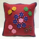 Handmade Turkish pillow nomadic gypsy hippie style cushion cover tribal L 10