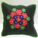 Handmade Turkish pillow nomadic gypsy hippie style cushion cover tribal ys 11