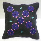 Handmade Turkish pillow nomadic gypsy hippie style cushion cover tribal L 1