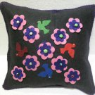Handmade Turkish pillow nomadic gypsy hippie style cushion cover tribal L 4
