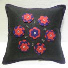 Handmade Turkish pillow nomadic gypsy hippie style cushion cover tribal L 6