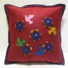 Handmade Turkish pillow nomadic gypsy hippie style cushion cover tribal L 11
