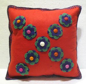 Handmade Turkish pillow nomadic gypsy hippie style cushion cover tribal L 12