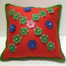 Handmade Turkish pillow nomadic gypsy hippie style cushion cover tribal ys 12