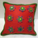 Handmade Turkish pillow nomadic gypsy hippie style cushion cover tribal ys 14