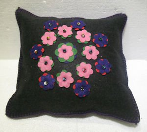 Handmade Turkish pillow nomadic gypsy hippie style cushion cover tribal L 3