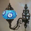evil eye mosaic sconce lamp wall light lampe mosaique electric wall candle 11