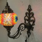 Orange mosaic glass sconce lamp wall light lampe mosaique electric wall candle 8