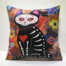 Cat design pillow cushion home decor modern decoration sofa cover throw 48