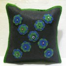 Handmade Turkish pillow nomadic gypsy hippie style cushion cover tribal ys 4