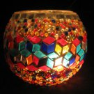 mosaic glass table lamp tischlampe moroccan lantern lampe mosaique candle 19