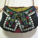 Vintage bag embroidery bag suzani fabric antique Turkish bag vintage purse c 053
