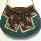 Vintage bag embroidery bag suzani fabric antique Turkish bag vintage purse c 027