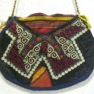 turkish bag embroidery bag suzani fabric antique vintage bag vintage purse c 06