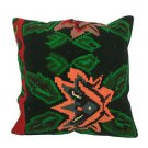 Antique Decorative Couch Throw Pillow Turkish Kilim Rustic Cushion 24'' (y024)