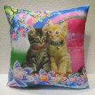 Twin cats pillow cushion home decor modern decoration sofa cover throw 60