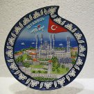 Blue mosque Sultan Ahmet camii handmade ceramic wall hanging plate kutahyas art6