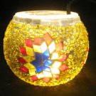mosaic glass table lamp tischlampe moroccan lantern lampe mosaique candle 25