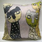 Smart cats pillow cushion home decor modern decoration sofa cover throw 38