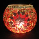 mosaic glass table lamp tischlampe moroccan lantern lampe mosaique candle 17