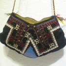 Vintage bag embroidery bag suzani fabric antique Turkish bag vintage purse c 061