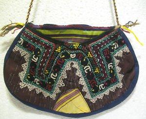 Vintage bag embroidery bag suzani fabric antique Turkish bag vintage purse c 024