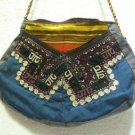 Vintage bag embroidery bag suzani fabric antique Turkish bag vintage purse c 025
