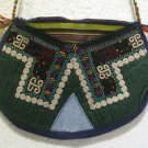Vintage bag embroidery bag suzani fabric antique Turkish bag vintage purse c 026