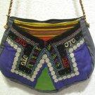 turkish bag embroidery bag suzani fabric antique vintage bag vintage purse c 04