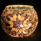 mosaic glass table lamp tischlampe moroccan lantern lampe mosaique candle 22