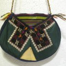 turkish bag embroidery bag suzani fabric antique vintage bag vintage purse c 05