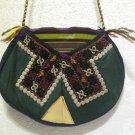 turkish bag embroidery bag suzani fabric antique vintage bag vintage purse c 05
