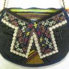 Vintage bag embroidery bag suzani fabric antique Turkish bag vintage purse c 019