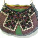 turkish bag embroidery bag suzani fabric antique vintage bag vintage purse c 07