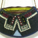 Vintage bag embroidery bag suzani fabric antique Turkish bag vintage purse c 018