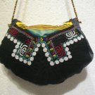 Vintage bag embroidery bag suzani fabric antique Turkish bag vintage purse c 048