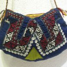 Vintage bag embroidery bag suzani fabric antique Turkish bag vintage purse c 056