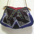 Vintage bag embroidery bag suzani fabric antique Turkish bag vintage purse c 057